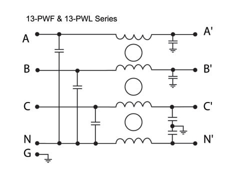Three Phase Power Line EMI Filters | API Technologies